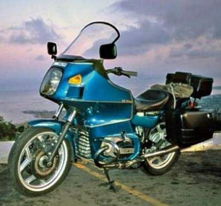 BMW R 100RT technical specifications